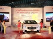 THACO lanza minivan Kia Sedona producido en Vietnam