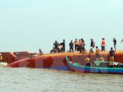 A salvo 13 tripulantes del hundido pesquero vietnamita