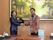 Vietnam busca robustecer cooperación judicial con Indonesia