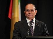 Se compromete presidente birmano a continuar las reformas