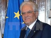 Visita del presidente italiano favorecerá nexos con Vietnam
