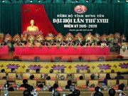 Asamblea partidista de Hung Yen traza metas del desarrollo