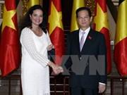 Visita de titular de Senado belga a Hanoi: hito para nexos bilaterales