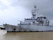 Visita ciudad vietnamita fragata de la Marina francesa