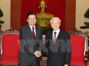 Vietnam y Laos enriquecen solidaridad especial