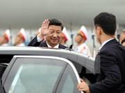 Llega Xi Jinping a Vietnam para iniciar visita estatal