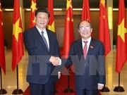 Presidente del Parlamento de Vietnam se reúne con Xi Jinping