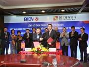 Bancos vietnamita y chino firman contrato crediticio