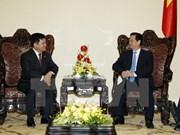 Premier recibe a secretario del Comité Partidista de Yunnan