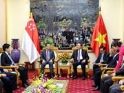 Robustecen cooperación Vietnam- Singapur en seguridad