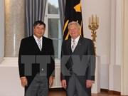 Presidente alemán califica de satisfactorias relaciones con Vietnam