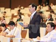 Parlamento refrenda borrador de resolución sobre programa de objetivos