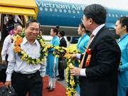 Entrada en operación ruta aérea Nha Trang-Hai Phong