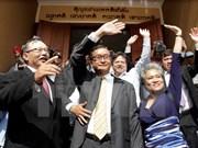 Cambodia: líder opositor retrasa regreso para evitar condena de prisión