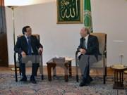 Vietnam y Egipto acuerdan profundizar nexos bilaterales
