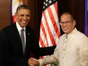 EE.UU. y Filipinas apoyan soluciones pacíficas para disputas marítimas
