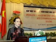 Rememoran Día Nacional de Polonia en Ciudad Ho Chi Minh