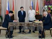 Establecen Vietnam y Filipinas nexos de asociación estratégica