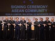 Líderes de ASEAN: Formación de Comunidad es gran éxito de casi un medio siglo
