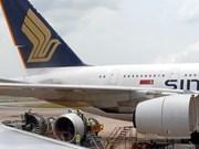 Avión singapurense aterriza seguramente ante amenaza de bomba