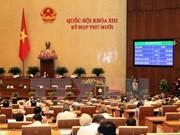 Parlamento vietnamita continúa trabajos de reformas legales