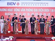 Entra en funcionamiento tercera oficina representativa de BIDV en Taipéi