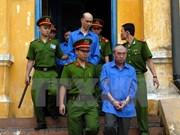Vietnam: Dos directivos enfrentan pena capital en gran caso corruptivo