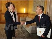 Suiza considera importantes nexos con Vietnam