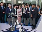 Efectúan exposiciones sobre sector hídrico y energía en Hanoi