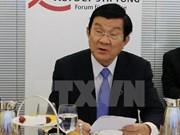 Presidente destaca potencial de cooperación económica Vietnam-Alemania