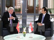 Presidente vietnamita concluye visita a Alemania