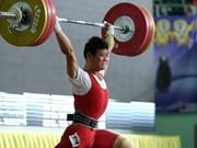 Halterofilia vietnamita asegura tres boletos a Juegos Olímpicos Rio 2016