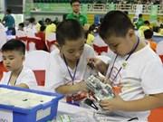 Gana Vietnam premios en evento regional de robótica