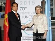 Fortalece Vietnam relaciones de confianza con la UNESCO