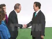 Premier vietnamita participa en la conferencia de la ONU sobre cambio climático