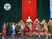 Rememoran fiesta nacional de Laos en Hanoi
