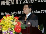 Presidente vietnamita urge finalizar redacción de anales de historia