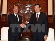 Presidente vietnamita recibe a jefe de Fiscalía Popular Suprema de RPDC