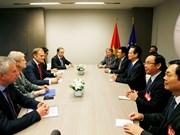 Intensifica Vietnam relaciones con Consejo y Parlamento europeos