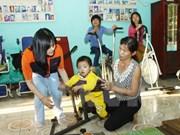Vietnam responde al Día internacional de personas discapacitadas