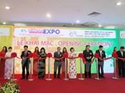 Inauguran ferias internacionales de comercio en Vietnam
