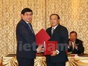 Banco vietnamita ayuda a Laos en el desarrollo agrícola