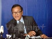Tribunal cambodiano cita a Sam Rainsy por ofender al titular parlamentario