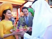 Arte culinario de Vietnam se expone en Emiratos Árabes Unidos