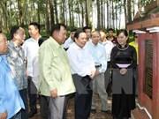 Efectuarán programa conmemorativo al expresidente laosiano en Vietnam