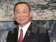 Presidente de Cámara Alta de Japón inicia visita oficial a Vietnam