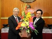 Recibe dirigente vietnamita a delegación de iglesia cristiana