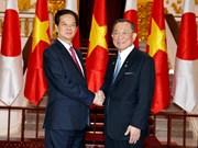 Premier vietnamita encomia la eficiencia de nexos legislativos con Japón