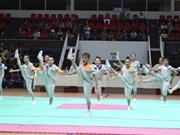 Vietnam acoge Campeonato Asiático de Aeróbic 2015