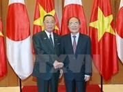Vietnam y Japón fomentan cooperación parlamentaria
